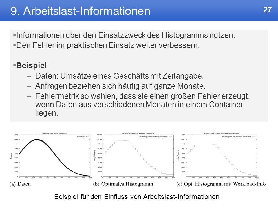 9. Arbeitslast-Informationen