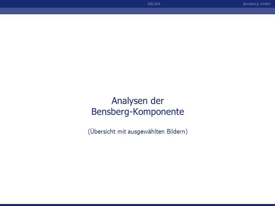 Analysen der Bensberg-Komponente (Übersicht mit ausgewählten Bildern)