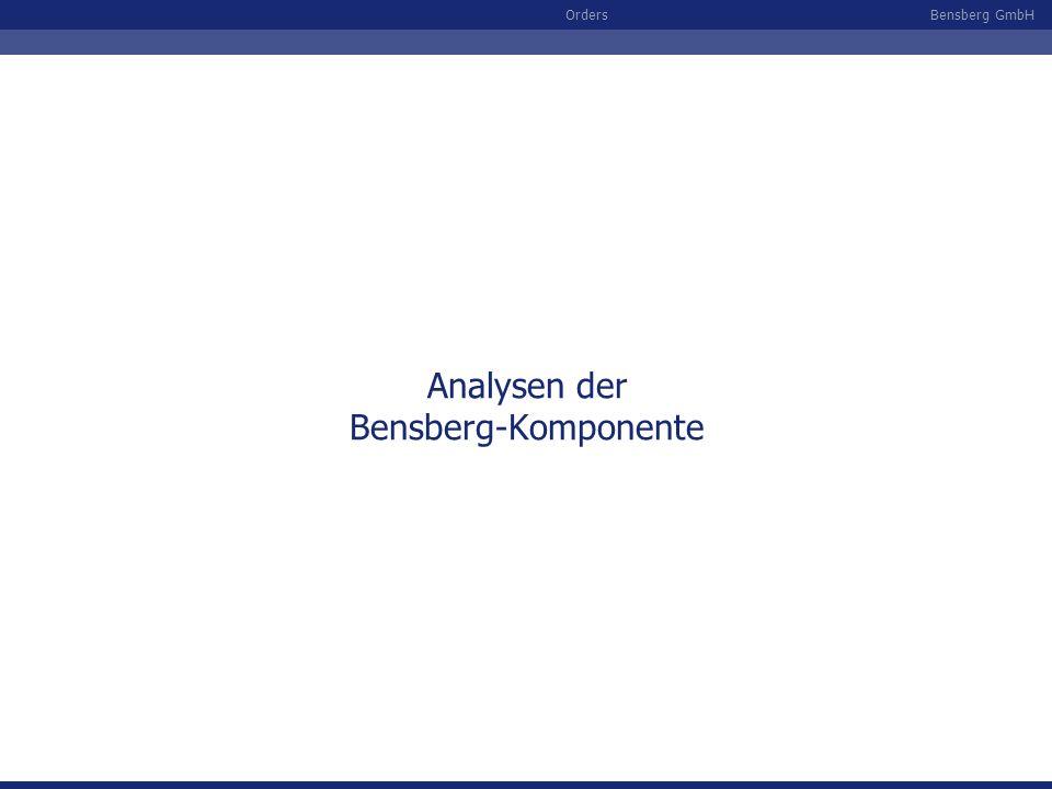 Analysen der Bensberg-Komponente