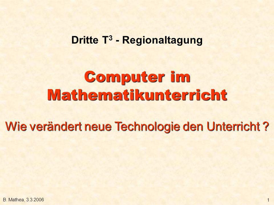 Dritte T3 - Regionaltagung
