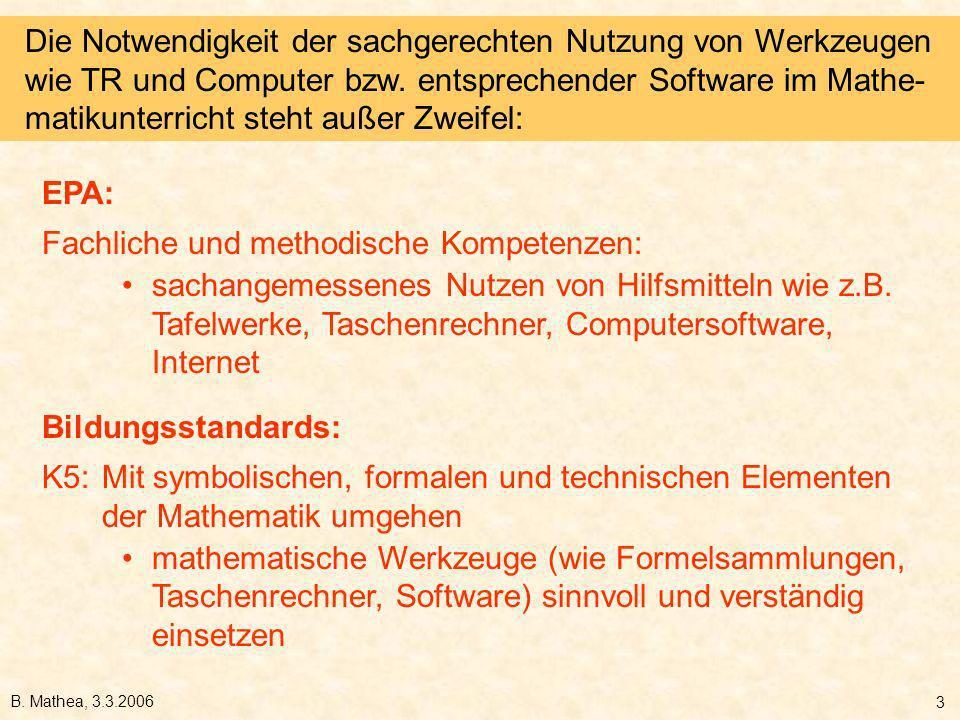 Fachliche und methodische Kompetenzen: