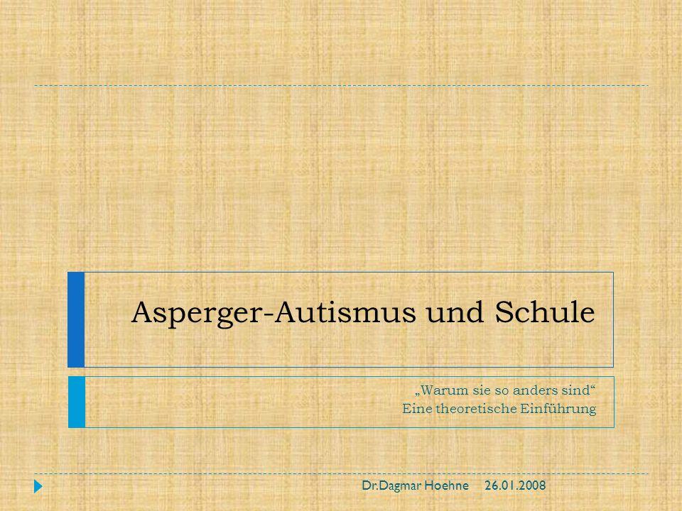 Asperger-Autismus und Schule
