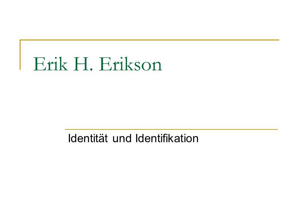 Identität und Identifikation