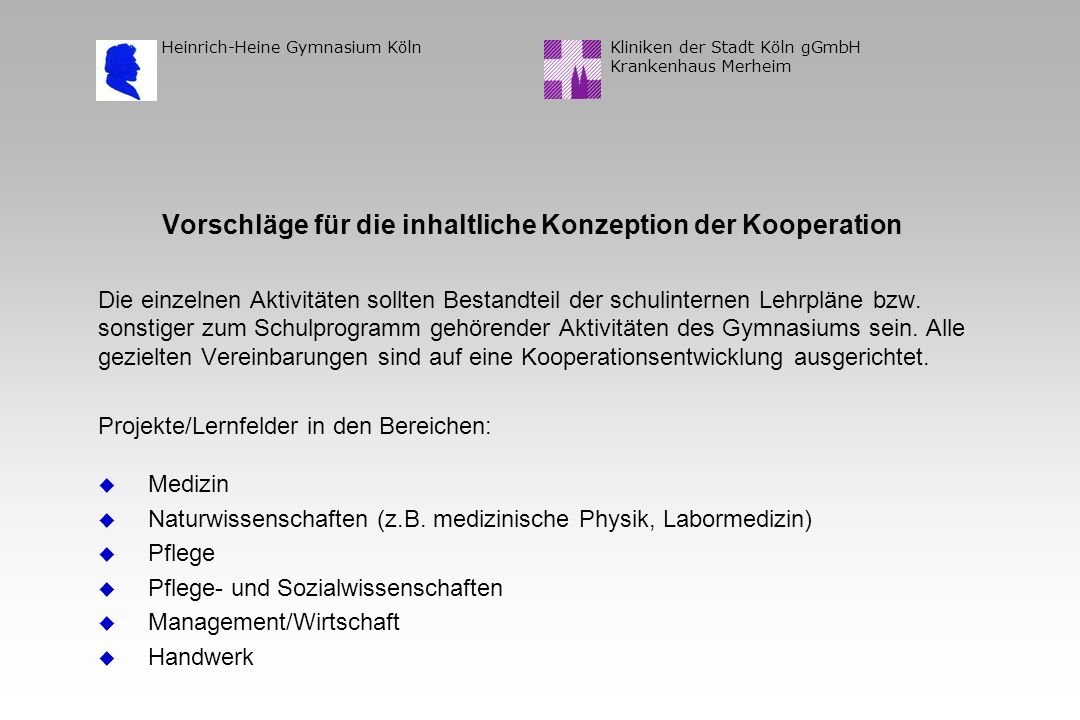 Kliniken der Stadt Köln gGmbH Krankenhaus Merheim