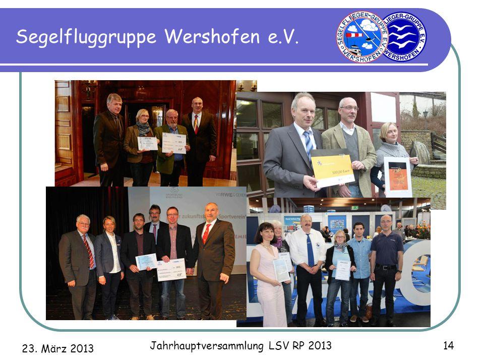 Segelfluggruppe Wershofen e.V.