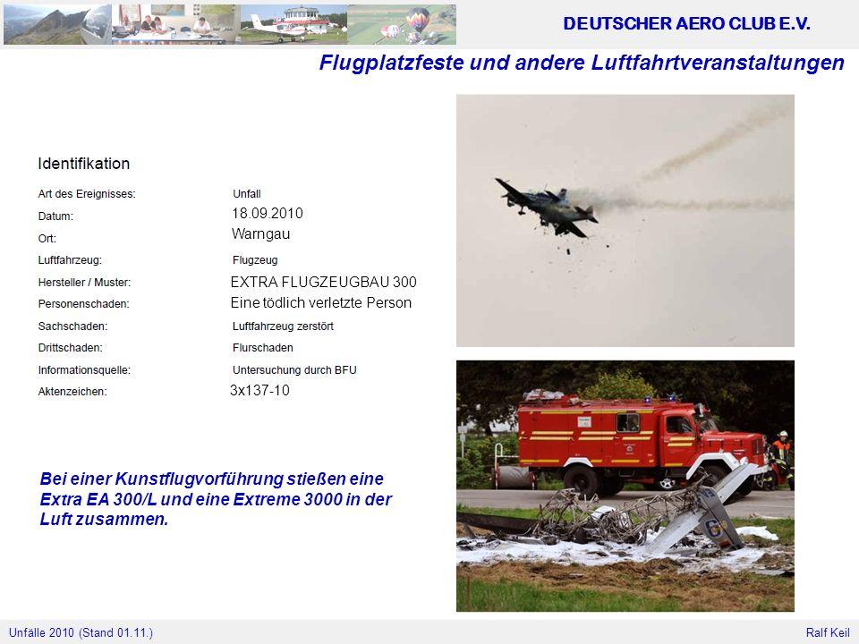 Flugplatzfeste und andere Luftfahrtveranstaltungen