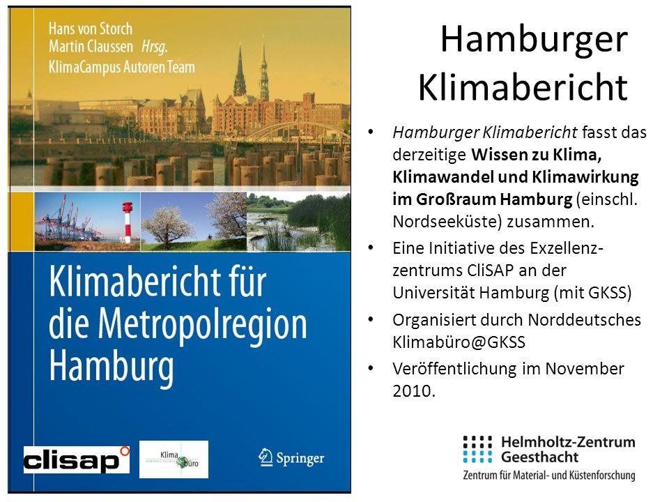 Hamburger Klimabericht