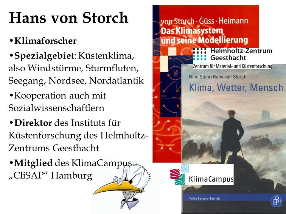 Hans von Storch Klimaforscher