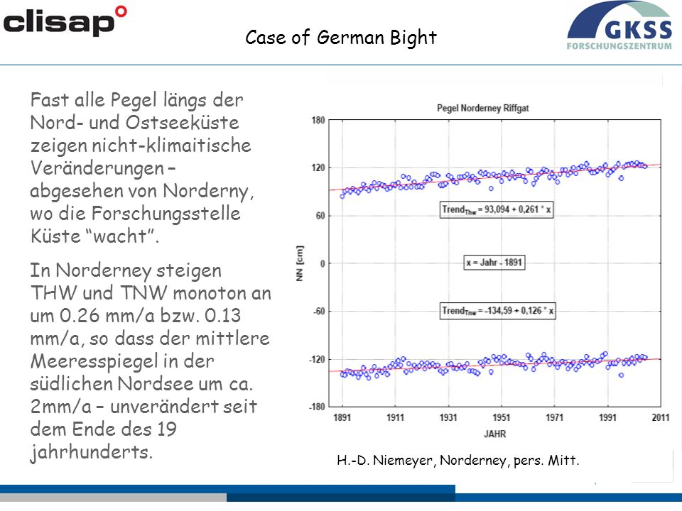 Case of German Bight