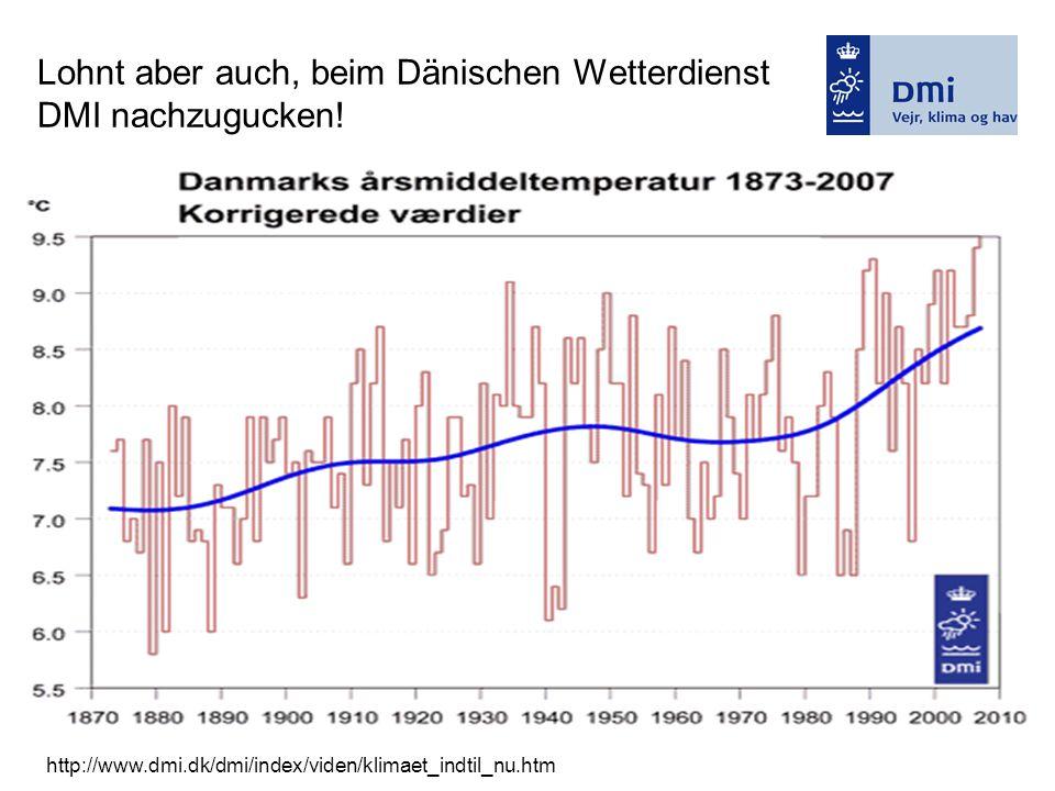 Lohnt aber auch, beim Dänischen Wetterdienst DMI nachzugucken!