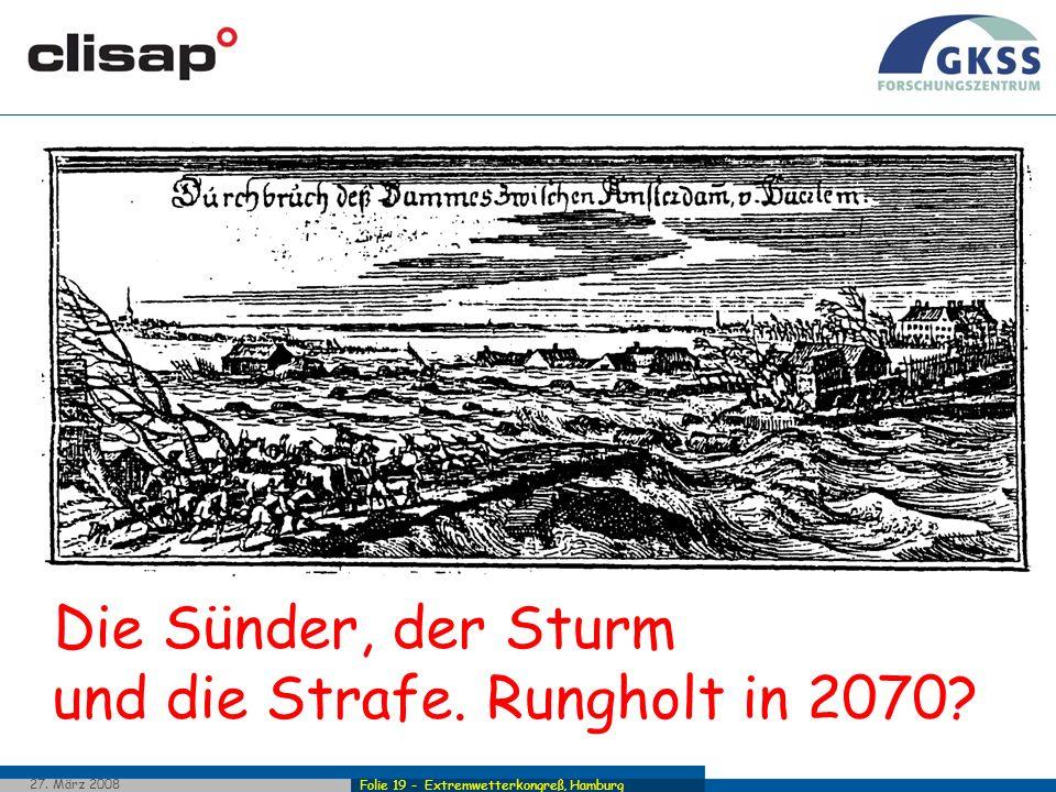 Die Sünder, der Sturm und die Strafe. Rungholt in 2070