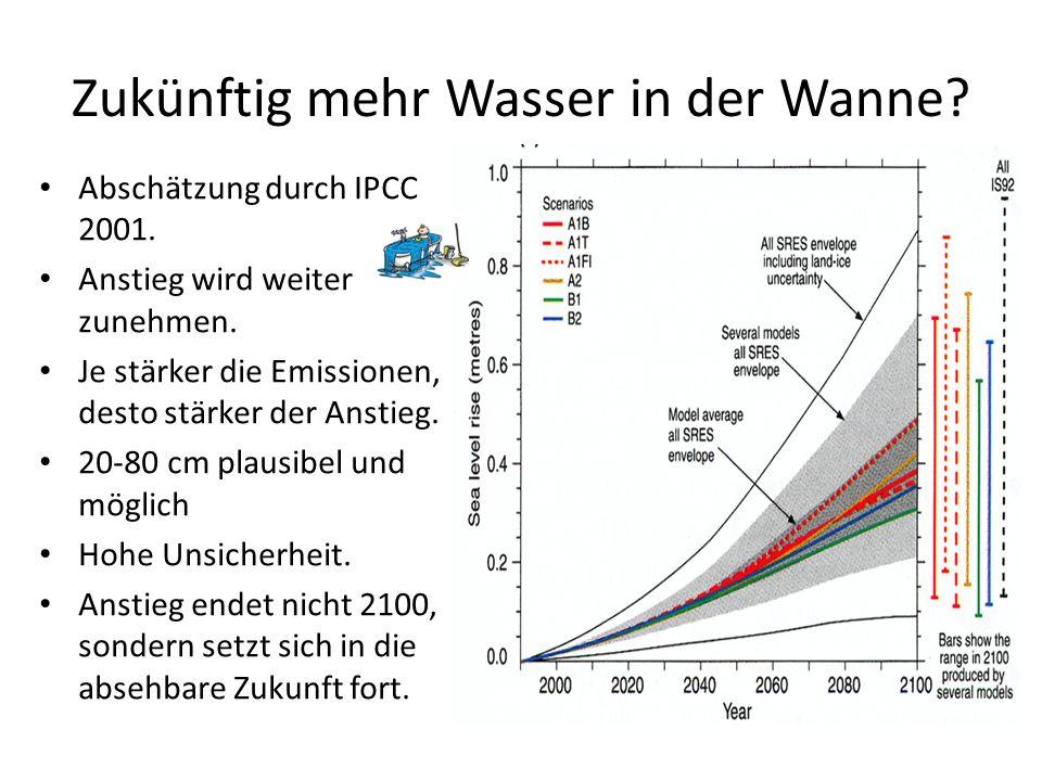Zukünftig mehr Wasser in der Wanne