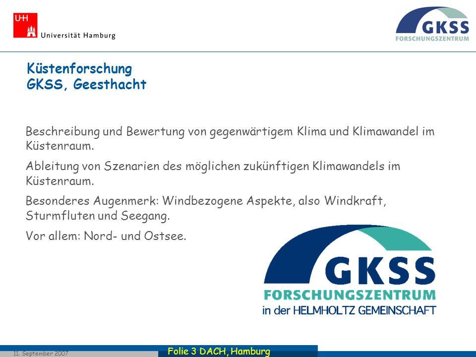 Küstenforschung GKSS, Geesthacht