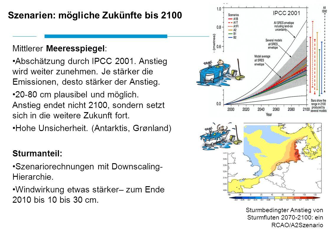 Szenarien: mögliche Zukünfte bis 2100