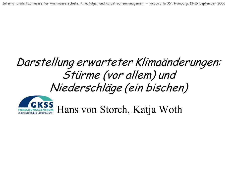Hans von Storch, Katja Woth