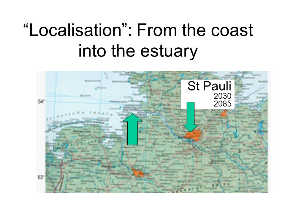 Localisation : From the coast into the estuary