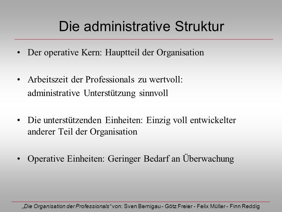 Die administrative Struktur