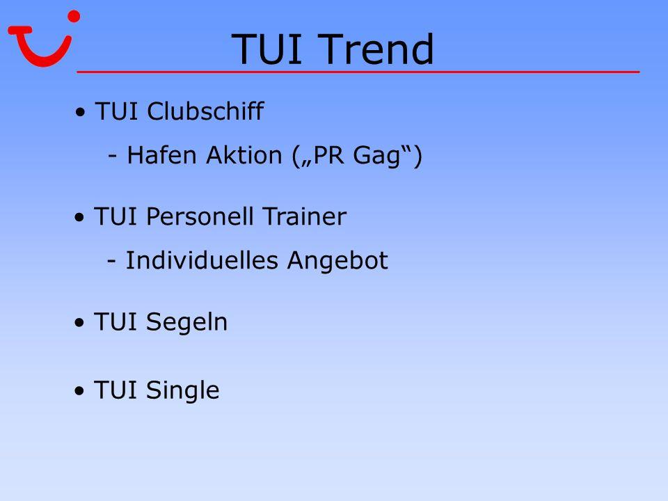"TUI Trend TUI Clubschiff - Hafen Aktion (""PR Gag )"