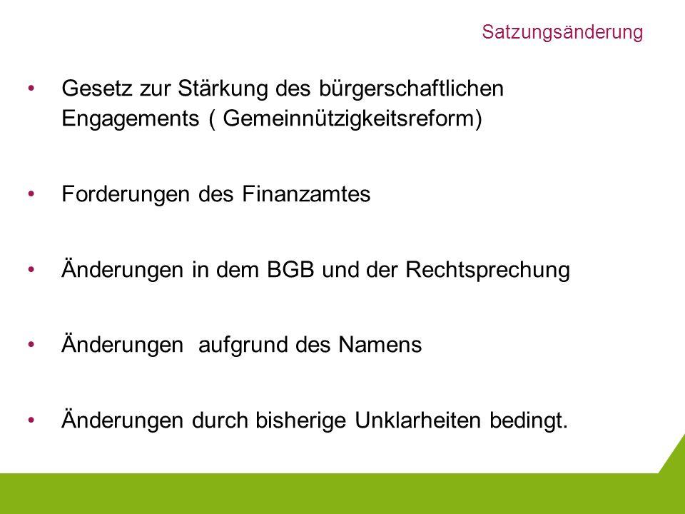 Forderungen des Finanzamtes
