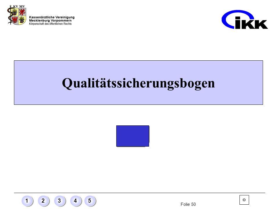 Qualitätssicherungsbogen