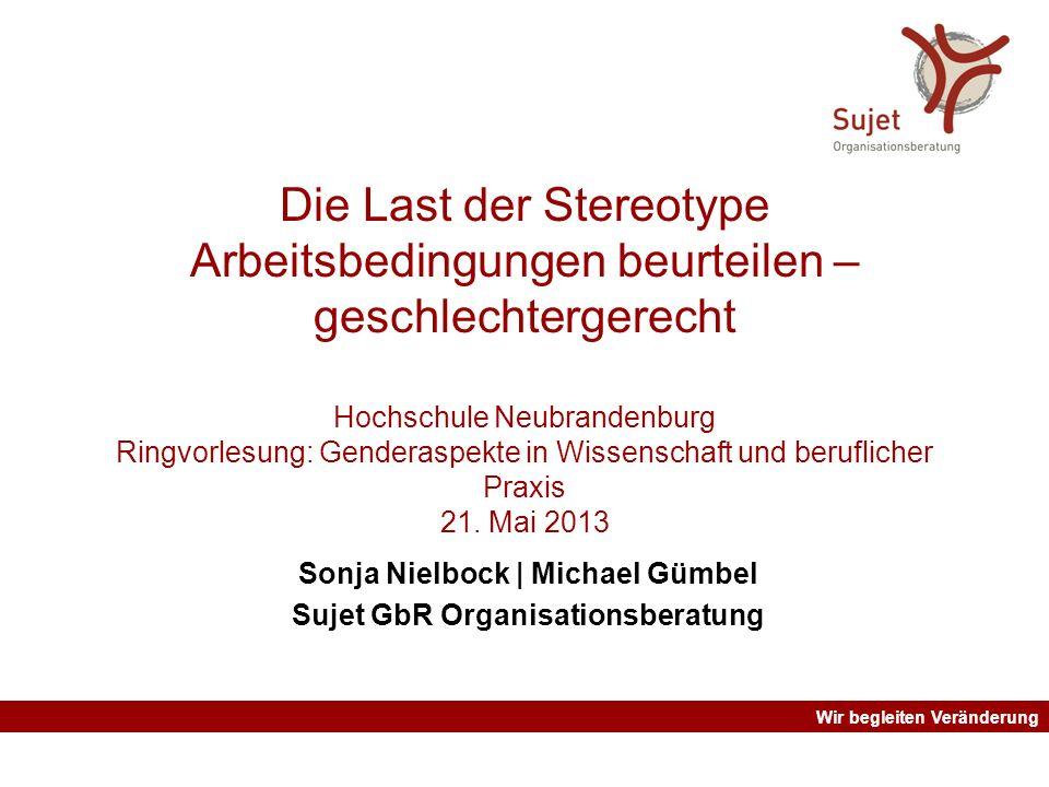 Sonja Nielbock | Michael Gümbel Sujet GbR Organisationsberatung