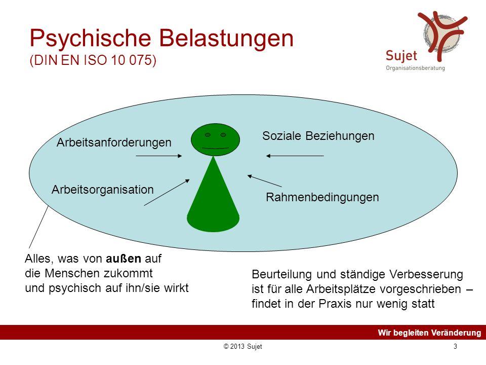 Psychische Belastungen (DIN EN ISO 10 075)