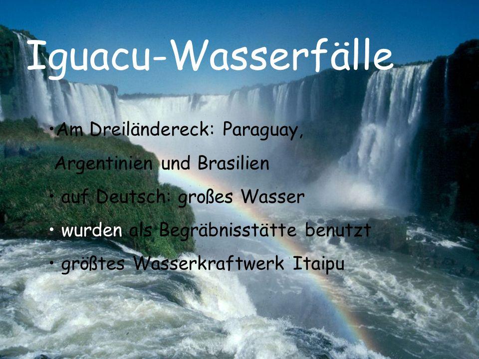 Iguacu-Wasserfälle Am Dreiländereck: Paraguay,