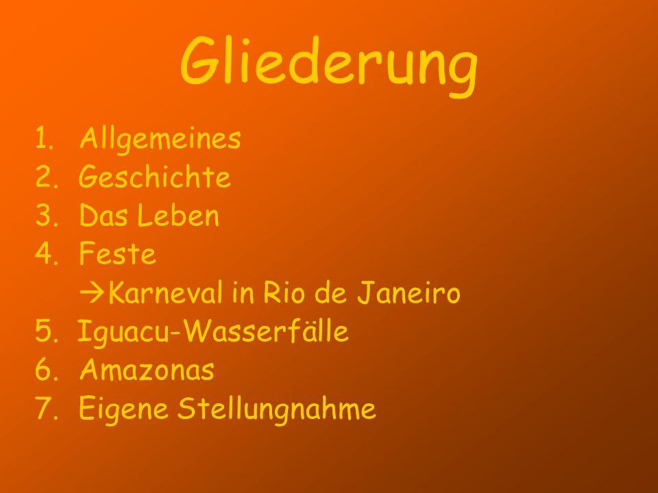 Gliederung Allgemeines Geschichte Das Leben Feste