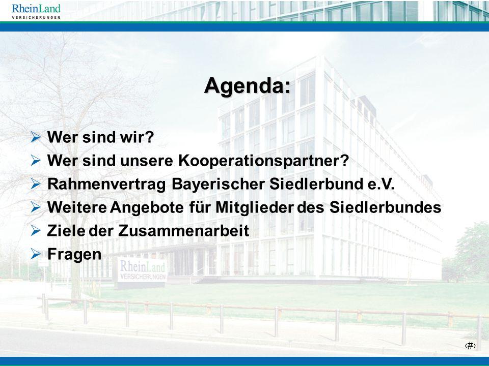 Agenda: Wer sind wir Wer sind unsere Kooperationspartner