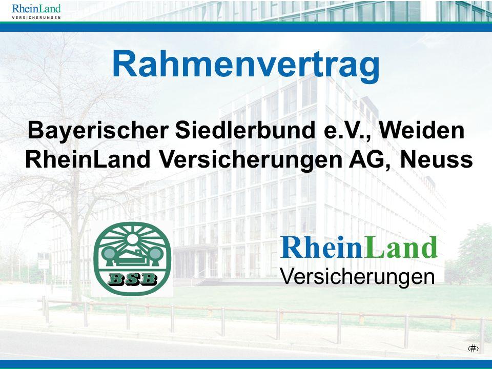 Rahmenvertrag RheinLand
