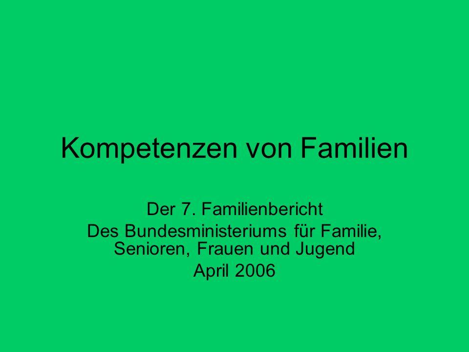 Kompetenzen von Familien