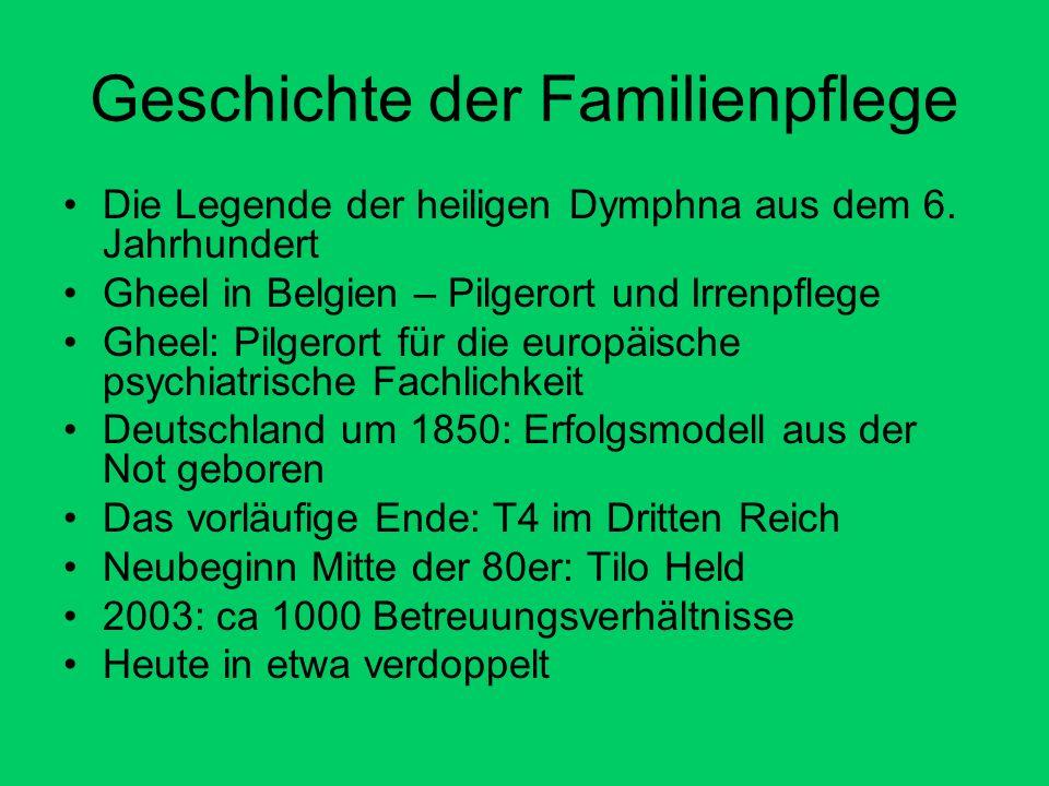 Geschichte der Familienpflege
