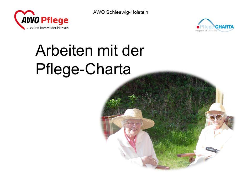 Arbeiten mit der Pflege-Charta