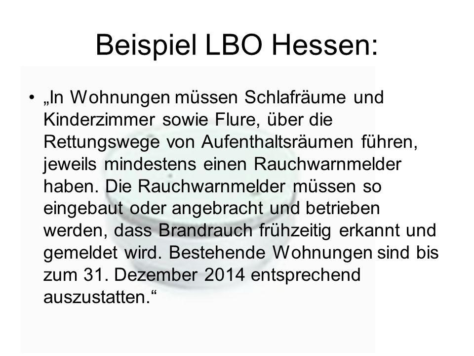 Beispiel LBO Hessen: