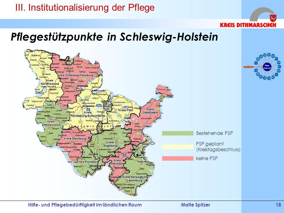 Pflegestützpunkte in Schleswig-Holstein
