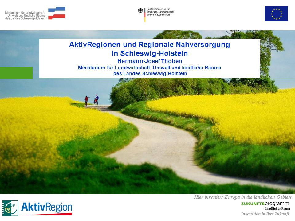 AktivRegionen und Regionale Nahversorgung in Schleswig-Holstein
