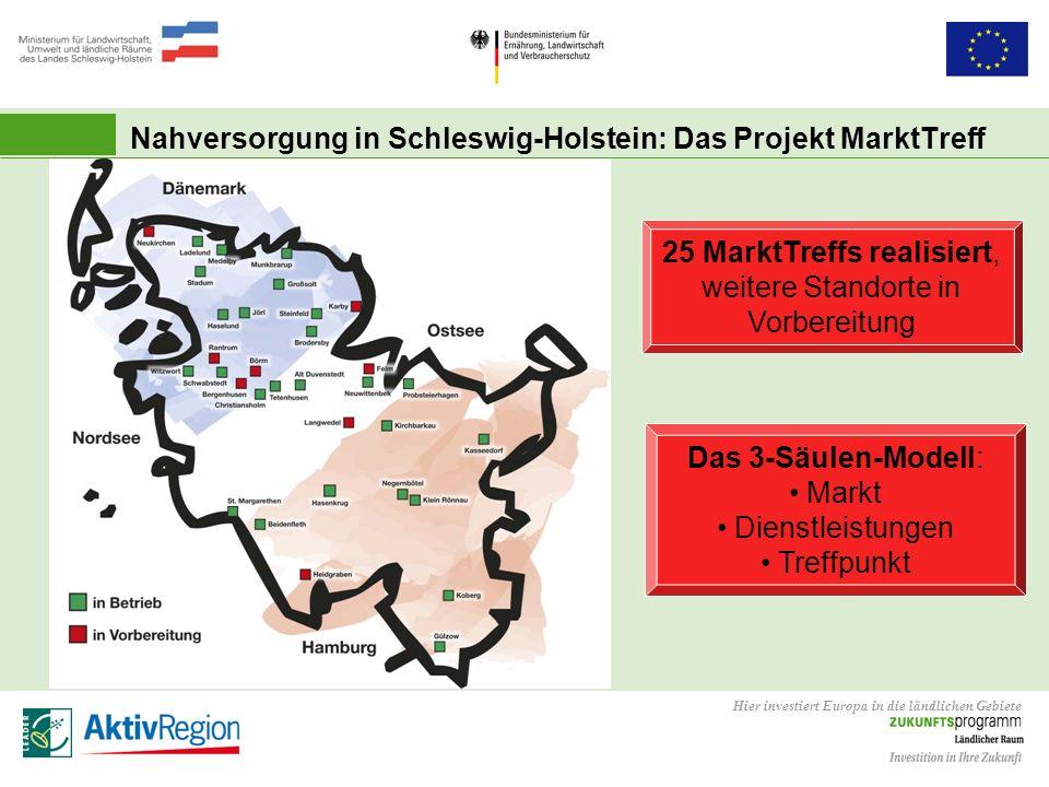 Nahversorgung in Schleswig-Holstein: Das Projekt MarktTreff