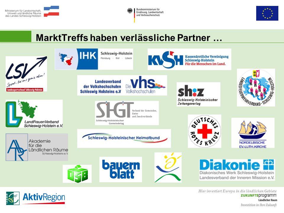 MarktTreffs haben verlässliche Partner …