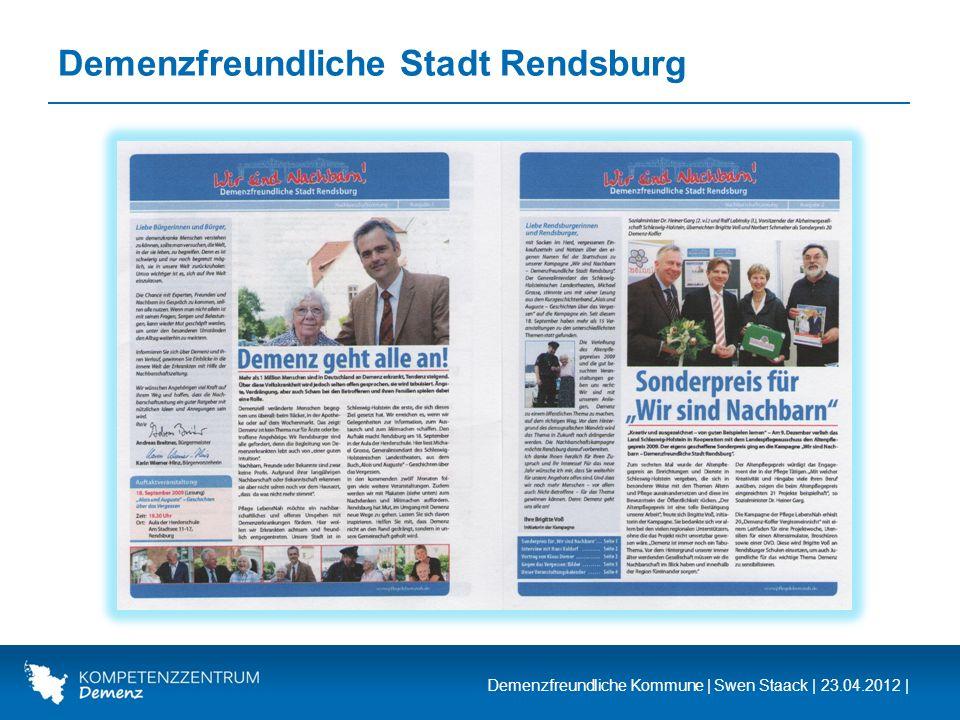 Demenzfreundliche Stadt Rendsburg