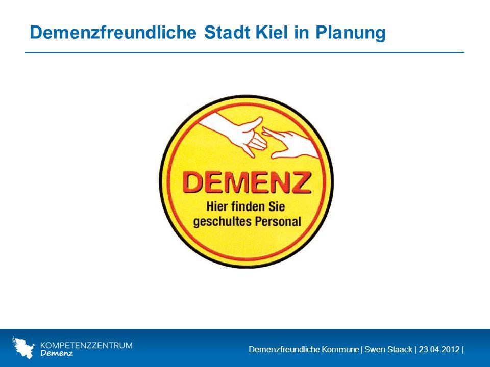 Demenzfreundliche Stadt Kiel in Planung