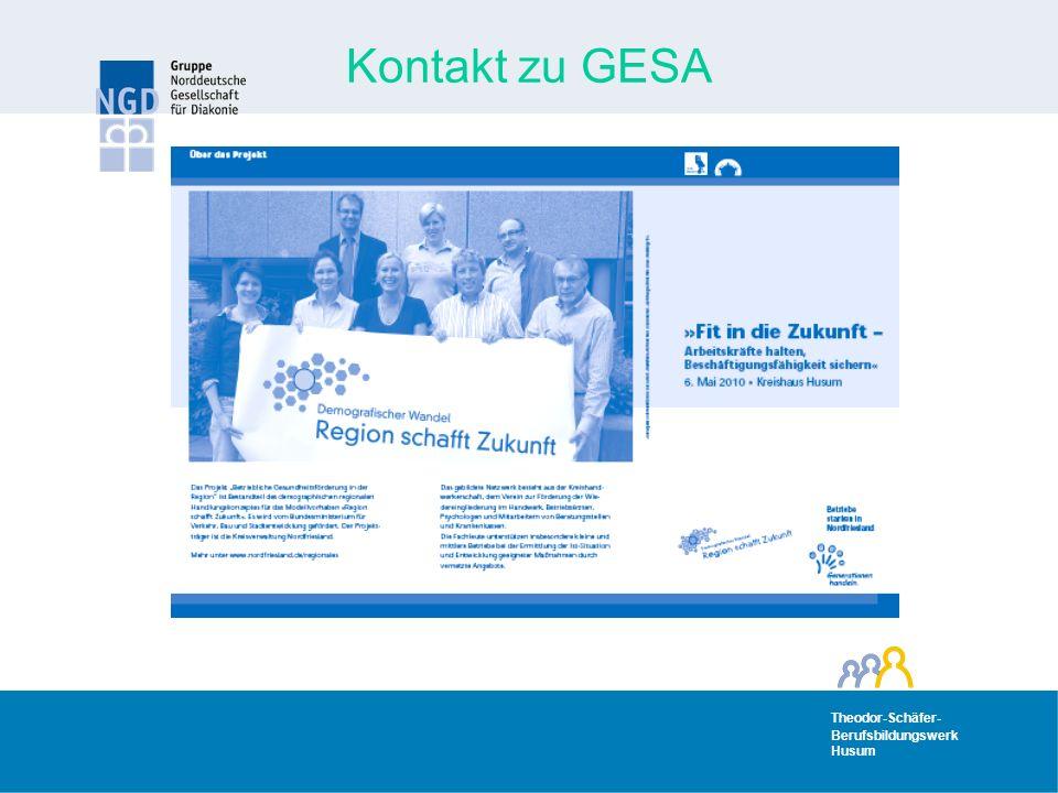 Kontakt zu GESA