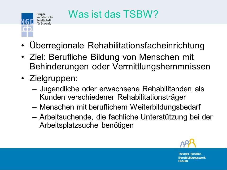 Was ist das TSBW Überregionale Rehabilitationsfacheinrichtung