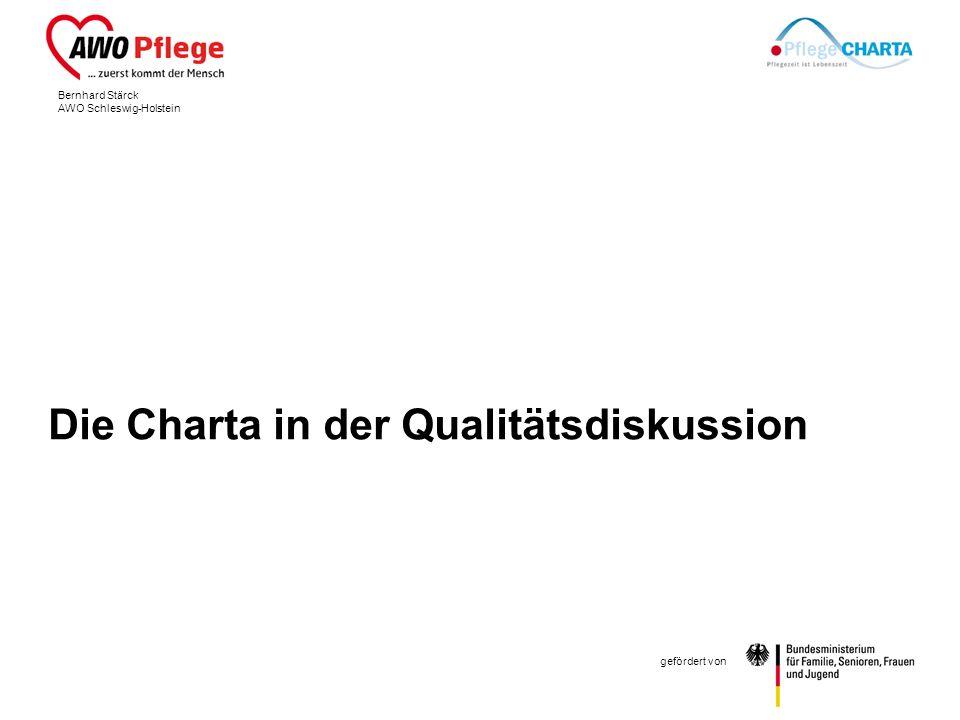 Die Charta in der Qualitätsdiskussion