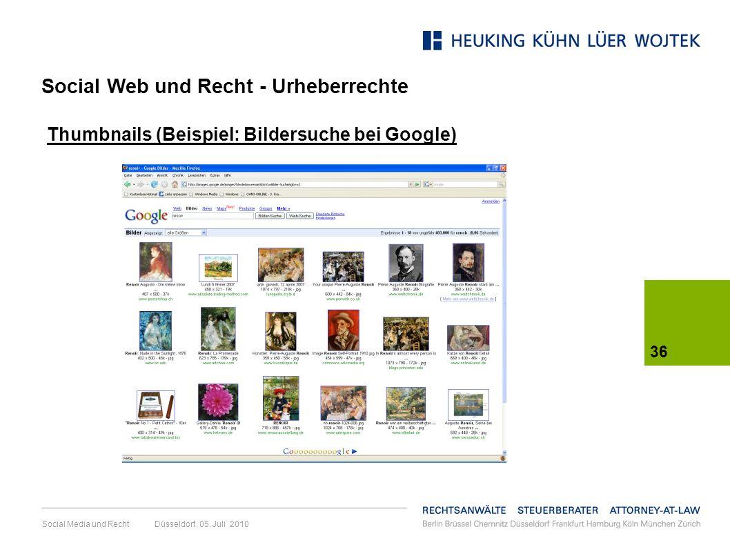 Social Web und Recht - Urheberrechte