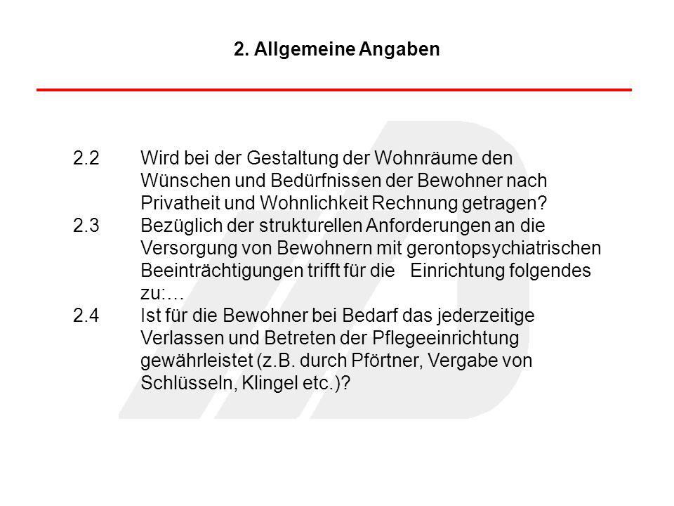 2. Allgemeine Angaben