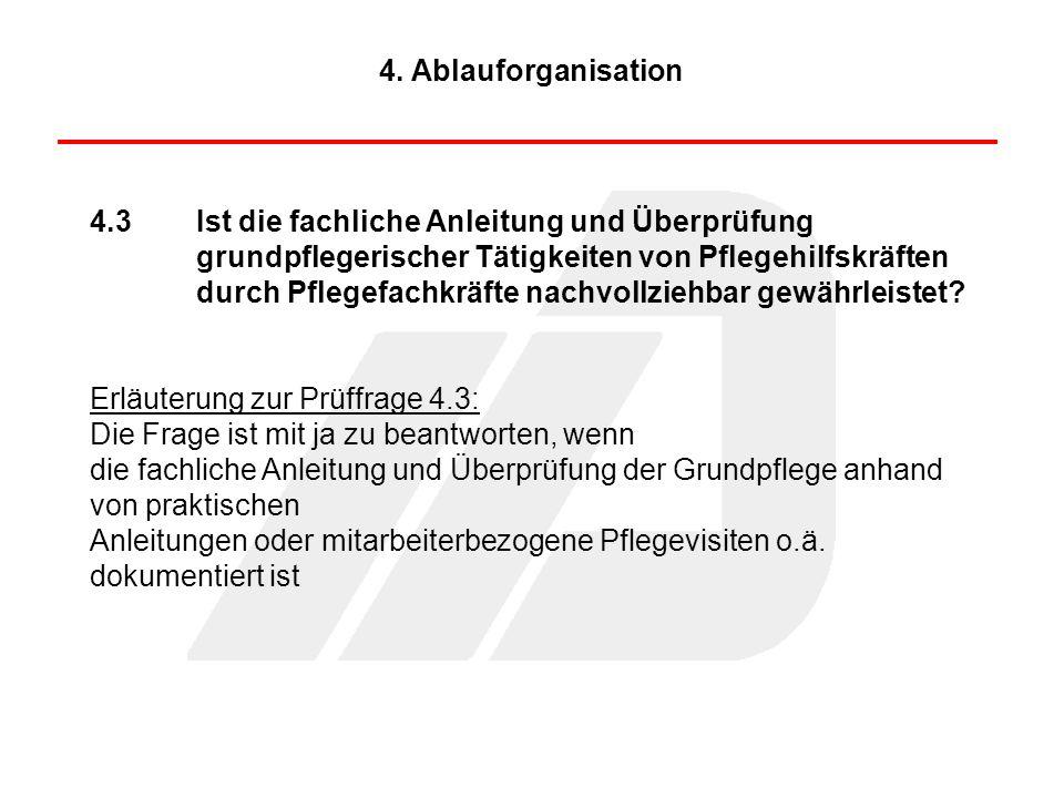 4. Ablauforganisation