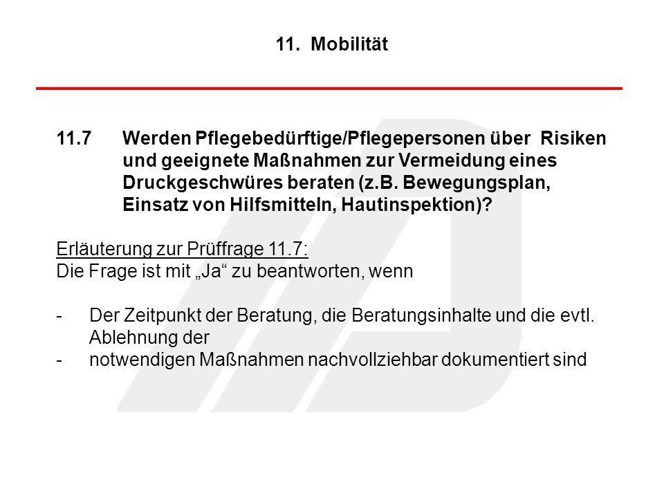 11. Mobilität