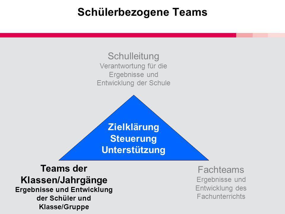 Schülerbezogene Teams