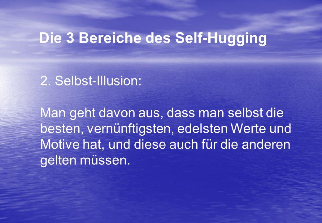 Die 3 Bereiche des Self-Hugging