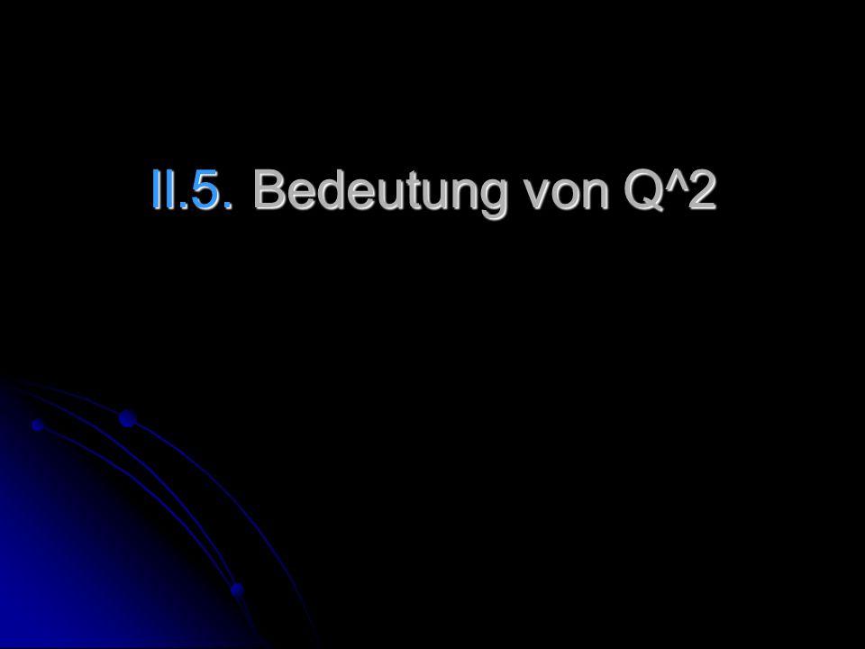 II.5. Bedeutung von Q^2